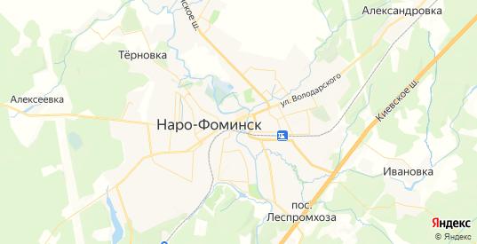 Карта Наро-Фоминска с улицами и домами подробная. Показать со спутника номера домов онлайн