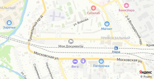 Улица Полубоярова в Наро-Фоминске с номерами домов на карте. Спутник и схема онлайн