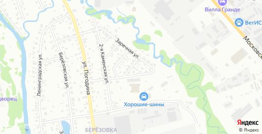 Каменский 4-й переулок в Наро-Фоминске с номерами домов на карте. Спутник и схема онлайн