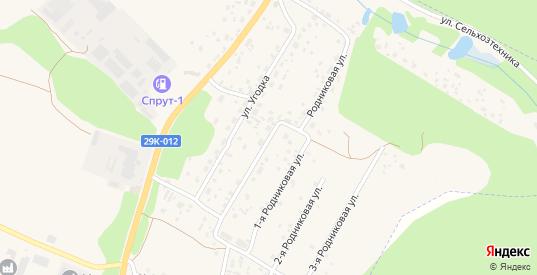 Родниковая улица в Жукове с номерами домов на карте. Спутник и схема онлайн