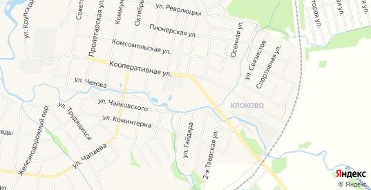 Карта садового некоммерческого товарищества Отдых в Конаково с улицами, домами и почтовыми отделениями со спутника онлайн