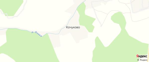 Карта деревни Кочуково в Калужской области с улицами и номерами домов
