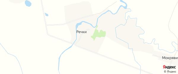 Карта деревни Узуново в Тверской области с улицами и номерами домов