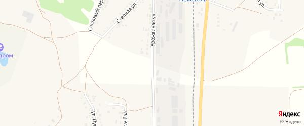 Урожайная улица на карте Шебекино с номерами домов
