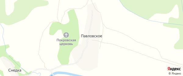 Карта Павловского села в Тульской области с улицами и номерами домов