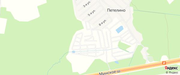 ГСК Мир на карте Одинцово с номерами домов
