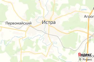Карта г. Истра