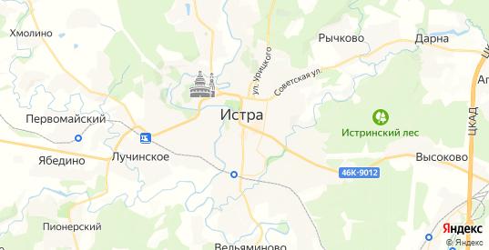 Карта Истры с улицами и домами подробная. Показать со спутника номера домов онлайн