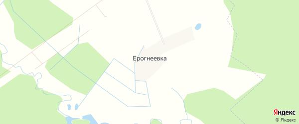 Карта деревни Ерогнеевки в Тверской области с улицами и номерами домов