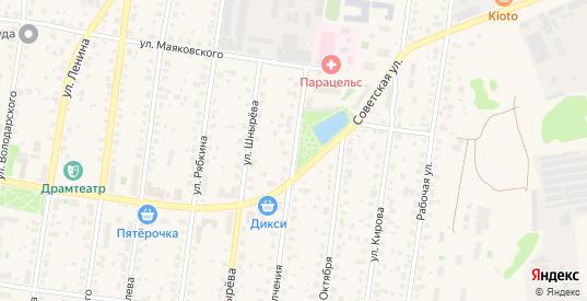Улица Народного Ополчения в Истре с номерами домов на карте. Спутник и схема онлайн