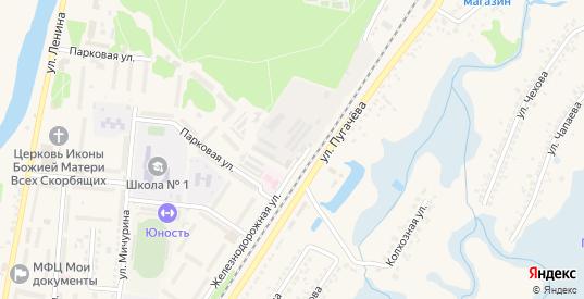 Ржевский переулок в Шебекино с номерами домов на карте. Спутник и схема онлайн