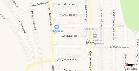 Улица Пушкина в Шебекино с номерами домов на карте. Спутник и схема онлайн