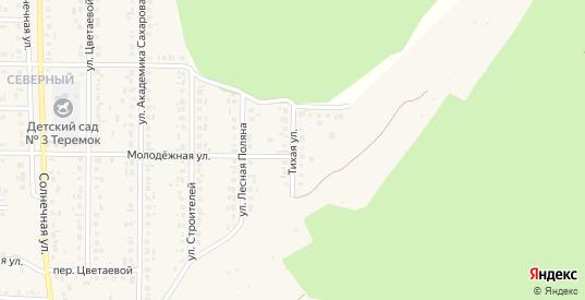 Тихая улица в Шебекино с номерами домов на карте. Спутник и схема онлайн