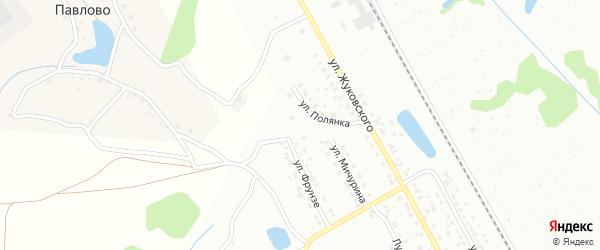 Павловский тупик на карте Алексина с номерами домов