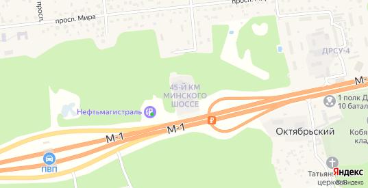 Территория Минское шоссе 45 км в Голицыно с номерами домов на карте. Спутник и схема онлайн