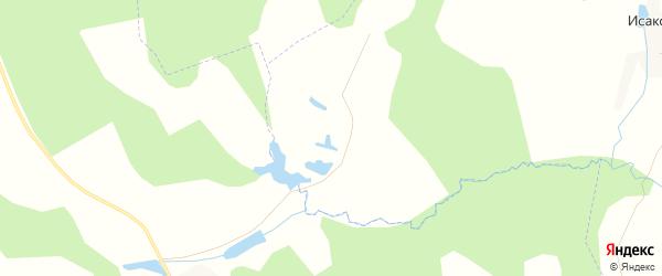 Карта деревни Козловки в Калужской области с улицами и номерами домов