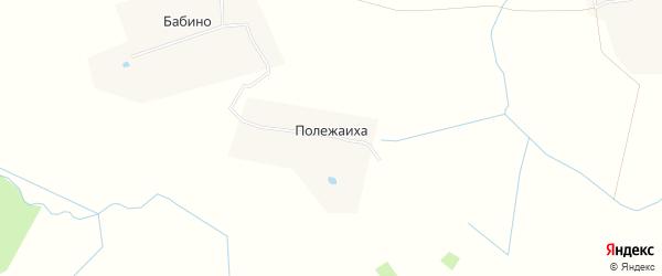 Карта деревни Полежаихи в Тверской области с улицами и номерами домов