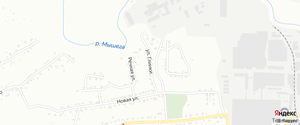 Улица Глинки на карте Алексина с номерами домов