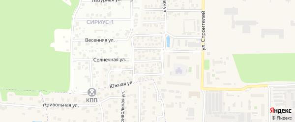 Рябиновая улица на карте Краснознаменска с номерами домов