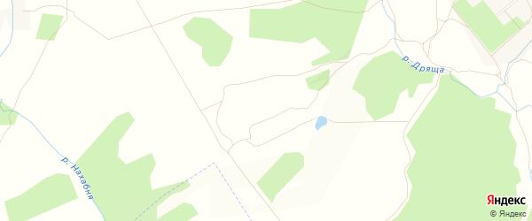Карта деревни Макарово в Калужской области с улицами и номерами домов