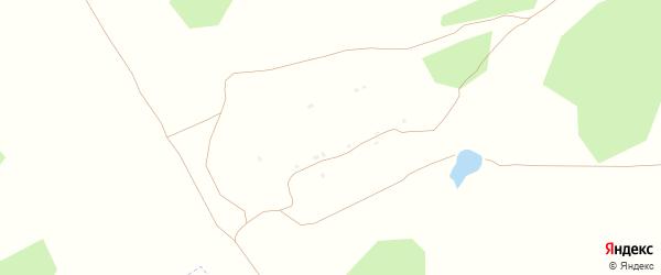 Луговая улица на карте деревни Макарово Калужской области с номерами домов
