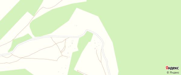 Улица Строителей на карте деревни Ложкино Калужской области с номерами домов