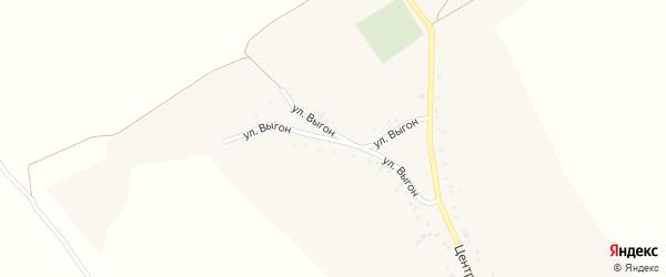 Центральная улица на карте Проходного села с номерами домов
