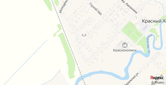 Линейный переулок в Красном Холме с номерами домов на карте. Спутник и схема онлайн