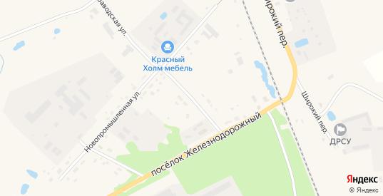 Переулок Механизаторов в Красном Холме с номерами домов на карте. Спутник и схема онлайн