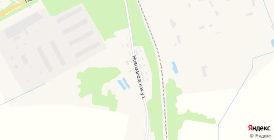Новозаводская улица в Красном Холме с номерами домов на карте. Спутник и схема онлайн