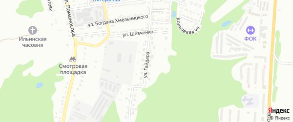 Улица Гайдара на карте Алексина с номерами домов