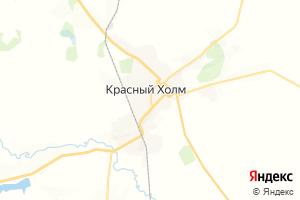 Карта г. Красный Холм Тверская область