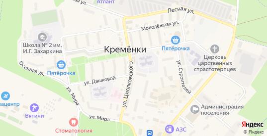 6-й Центральный проезд в Кременки с номерами домов на карте. Спутник и схема онлайн