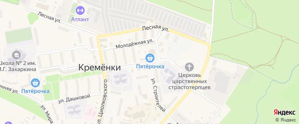 Улица Победы на карте Кременки с номерами домов