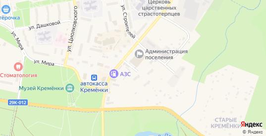 Солнечная улица в Кременки с номерами домов на карте. Спутник и схема онлайн