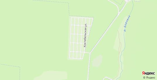 Охотник СНТ на карте Кременки с номерами домов