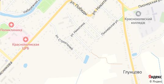 Победы 2-й переулок в Красном Холме с номерами домов на карте. Спутник и схема онлайн