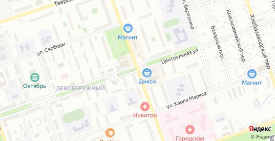 Улица Володарского в Дубне с номерами домов на карте. Спутник и схема онлайн