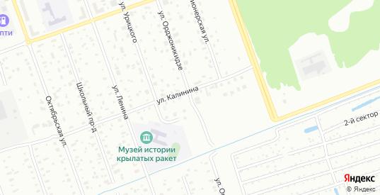Улица Орджоникидзе в Дубне с номерами домов на карте. Спутник и схема онлайн