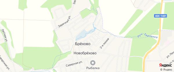 Квартал 28 на карте поселения Кокошкино с номерами домов