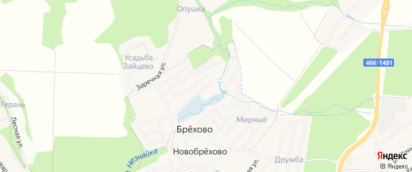 Квартал 26 на карте поселения Кокошкино с номерами домов