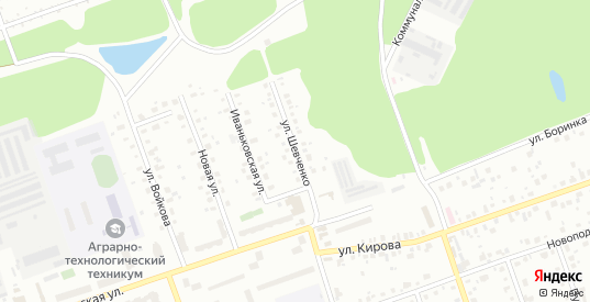 Улица Шевченко в Дубне с номерами домов на карте. Спутник и схема онлайн