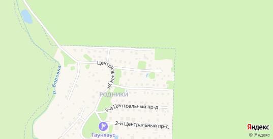 5-й Центральный проезд в Кременки с номерами домов на карте. Спутник и схема онлайн