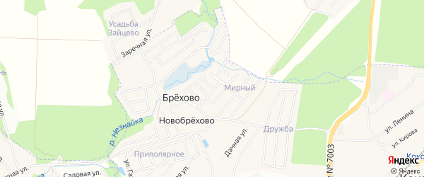 Квартал 23 на карте поселения Кокошкино с номерами домов