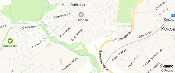 Квартал 17 на карте поселения Кокошкино с номерами домов