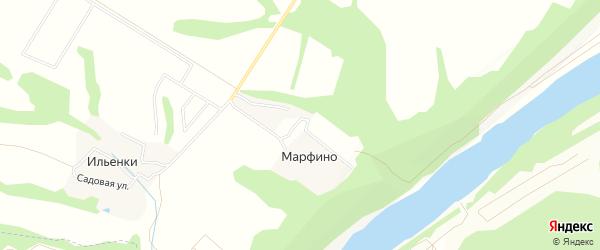 Карта территории Сдт Механизатора в Калужской области с улицами и номерами домов