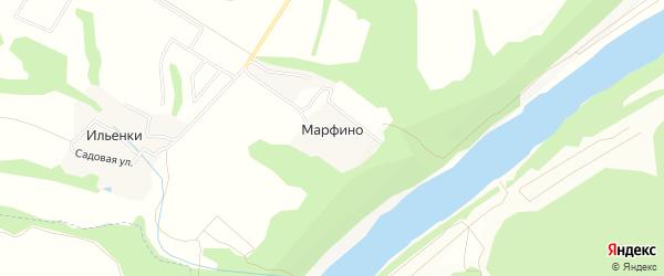 Карта территории Сдт Клена в Калужской области с улицами и номерами домов