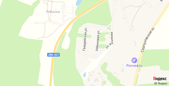 Гвардейская улица в Тарусе с номерами домов на карте. Спутник и схема онлайн