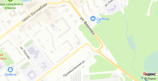 Улица Вернова С.Н. в Дубне с номерами домов на карте. Спутник и схема онлайн