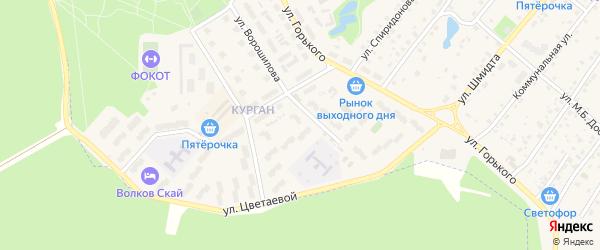 Улица Голубицкого на карте Тарусы с номерами домов